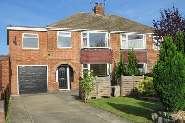 Thumbnail Semi-detached house for sale in Manor Park Close, York