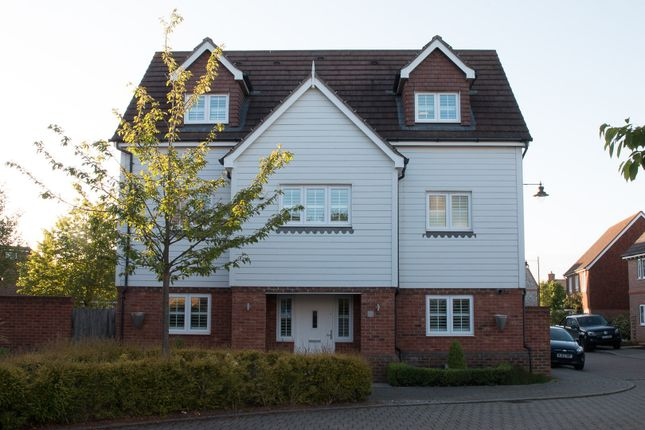 Thumbnail Detached house for sale in Quindell Place, Kings Hill, West Malling
