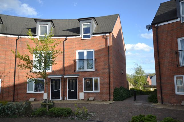 Thumbnail Semi-detached house to rent in Comet Avenue, Newcastle-Under-Lyme