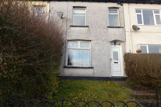 Thumbnail Terraced house to rent in Clydach Street, Brynmawr, Ebbw Vale