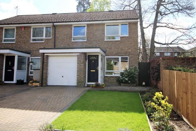 Thumbnail End terrace house for sale in Mardale, Camberley