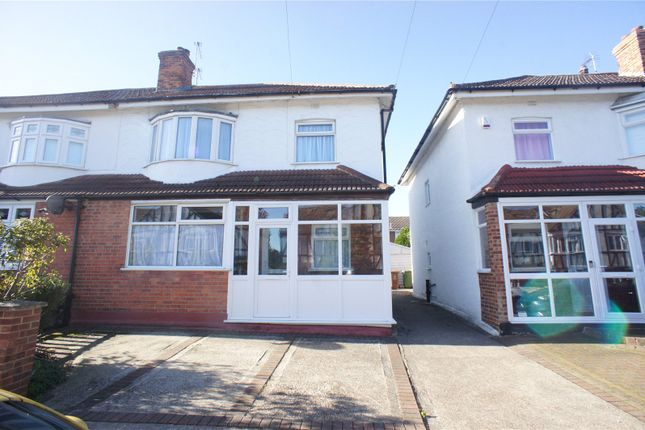 Thumbnail Semi-detached house for sale in The View, Abbeywood, London