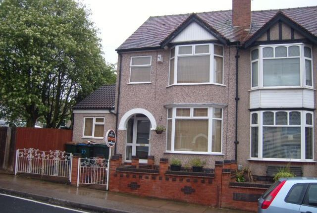 Thumbnail Terraced house to rent in Max Road, Coventry