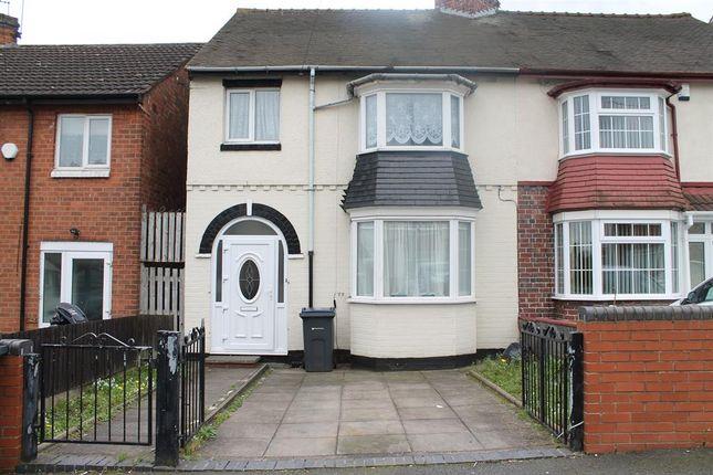 Thumbnail Semi-detached house for sale in Onibury Road, Handsworth, Birmingham