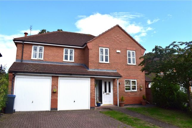 Thumbnail Detached house for sale in Florian Way, Hinckley, Leicestershire