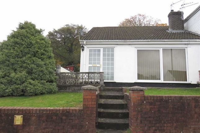 Thumbnail Semi-detached bungalow to rent in Moorland Heights, Pontypridd