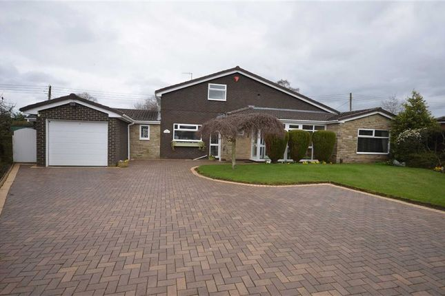 Thumbnail Detached bungalow for sale in Parkfields Close, Barlaston, Stoke-On-Trent