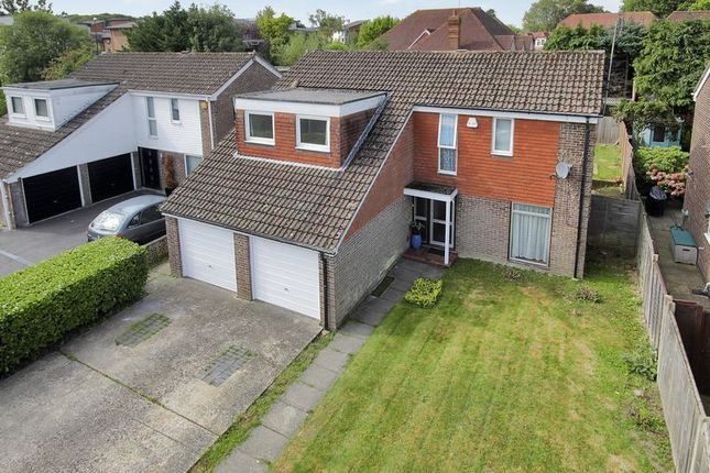 Thumbnail Detached house for sale in Normanhurst Close, Three Bridges, Crawley, West Sussex