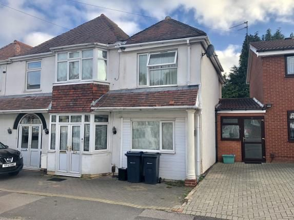 Thumbnail Semi-detached house for sale in Dorset Road, Edgbaston, Birmingham, West Midlands