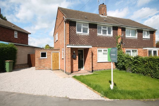 Thumbnail Semi-detached house for sale in The Keep, Kirby Muxloe, Leicester