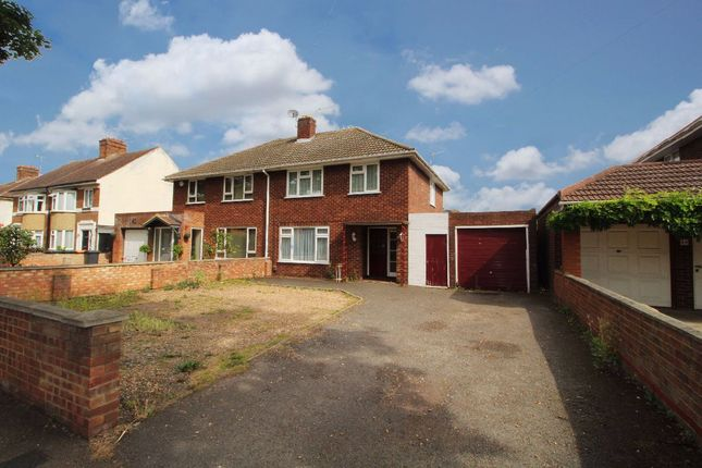 Thumbnail Semi-detached house for sale in Mile Road, Elstow, Bedford