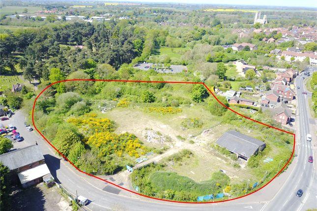 Thumbnail Land for sale in Station Road, Wymondham, Norfolk