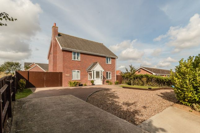 Thumbnail Detached house for sale in Pristow Green Lane, Norwich, Norfolk