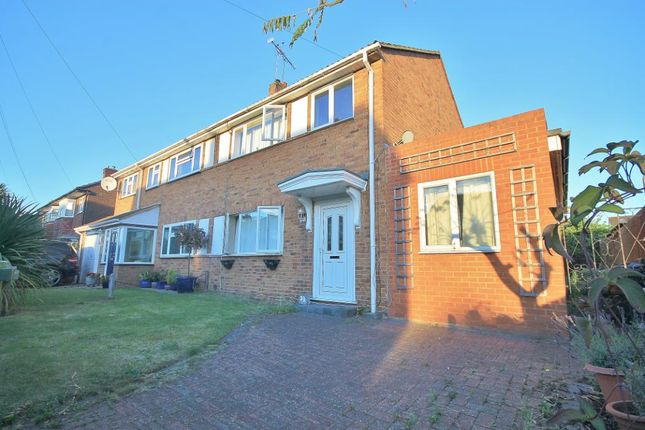 Thumbnail Semi-detached house for sale in Garden Close, Ashford, Middlesex