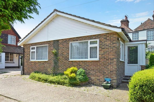 Thumbnail Detached bungalow for sale in Old Saltwood Lane, Saltwood, Hythe, Kent