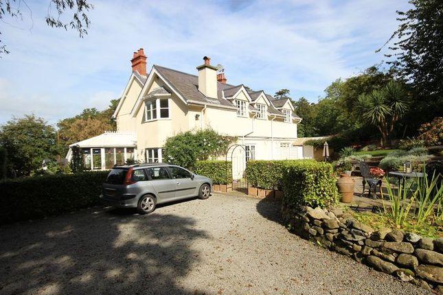 Thumbnail Detached house for sale in Aber Road, Llanfairfechan