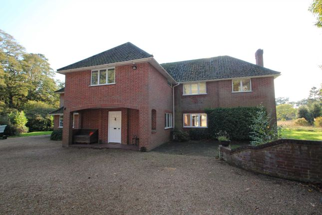 Thumbnail Detached house for sale in Wroxham Road, Rackheath, Norwich