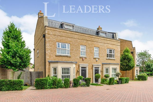 Thumbnail Semi-detached house to rent in Lendy Place, Sunbury-On-Thames