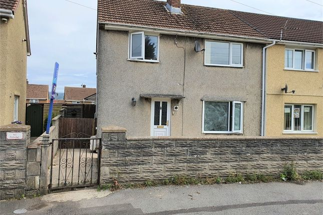 Semi-detached house for sale in Heol Onnen, North Cornelly, Bridgend, Mid Glamorgan