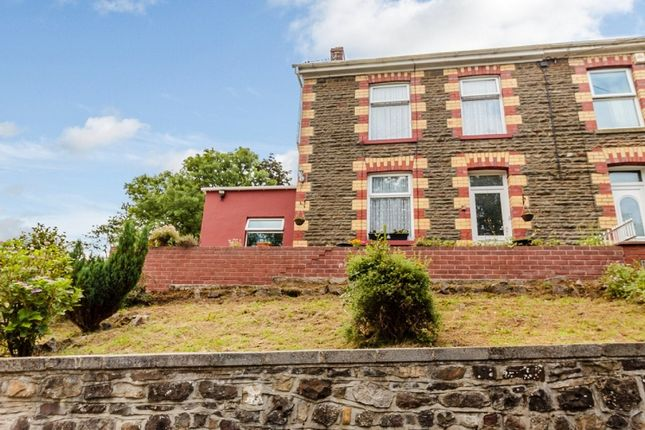 Thumbnail Semi-detached house for sale in Caerbont, Ystradgynlais, Swansea.