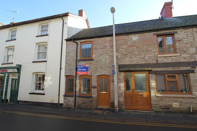 Thumbnail Terraced house for sale in High Street, Talgarth, Brecon