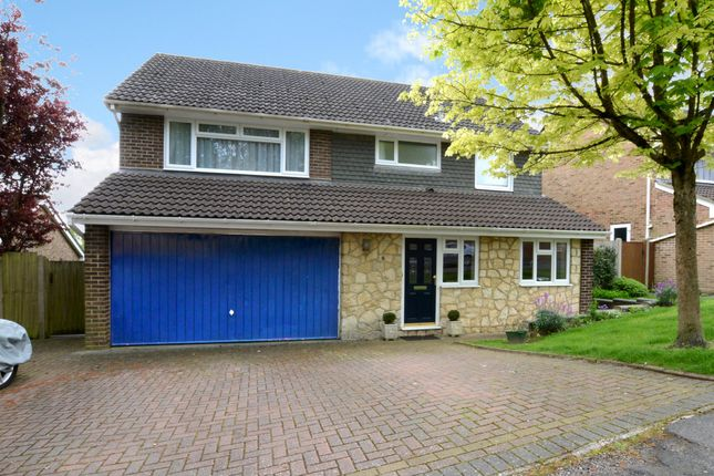Thumbnail Detached house to rent in Redcrest Gardens, Camberley