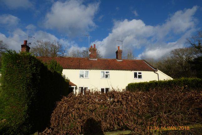 Thumbnail Terraced house to rent in Belsey Bridge Road, Ditchingham, Bungay