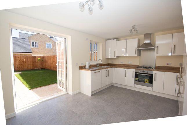 Semi-detached house to rent in Auralia Close, Berryfields, Aylesbury