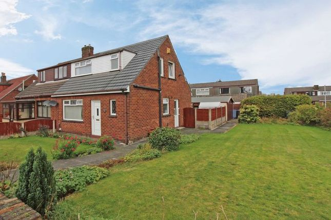 Thumbnail Semi-detached house to rent in Brooklands Drive, Orrell, Wigan