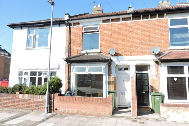 Thumbnail Terraced house to rent in Hatfield Road, Southsea