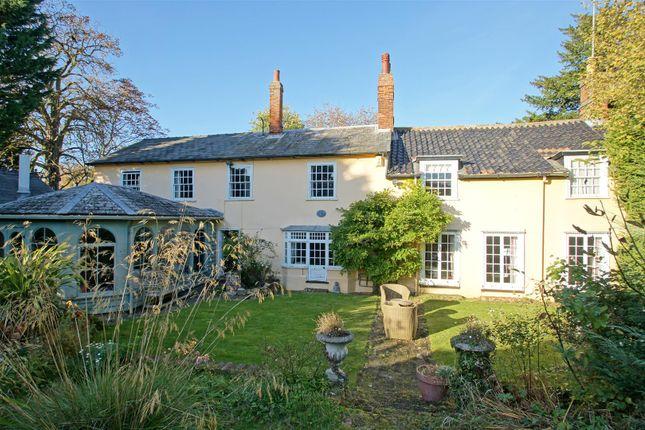 Thumbnail Detached house for sale in Nowton Road, Bury St. Edmunds