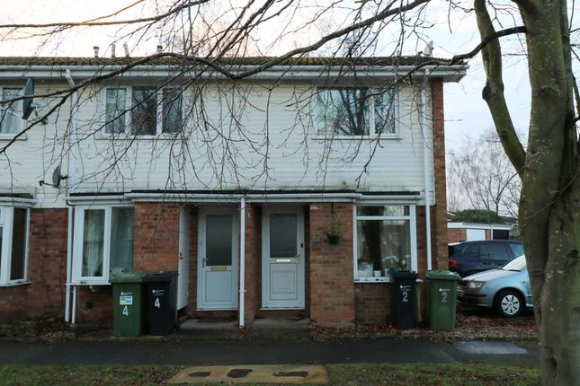Thumbnail Terraced house to rent in Ascot Close, Bobblestock, Hereford