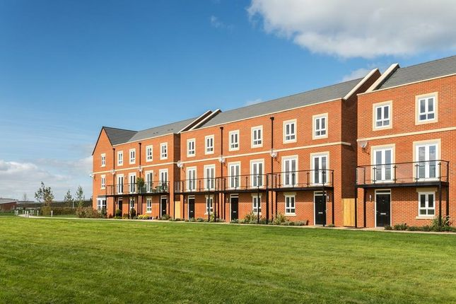 """Thumbnail End terrace house for sale in """"Henwick"""" at Fetlock Drive, Newbury"""