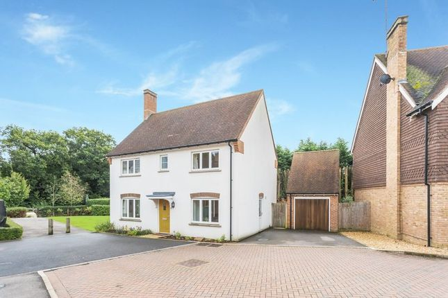 Thumbnail Detached house for sale in Trinity Fields, Lower Beeding, West Sussex