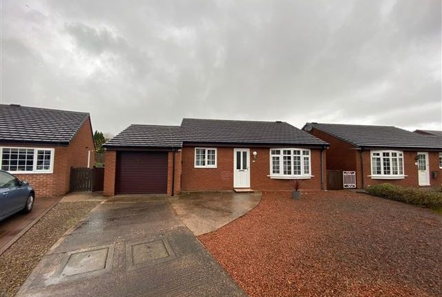 Thumbnail Bungalow for sale in Newfield Drive, Carlisle, Cumbria