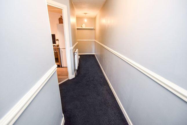 Hallway of Locks Street, Coatbridge ML5