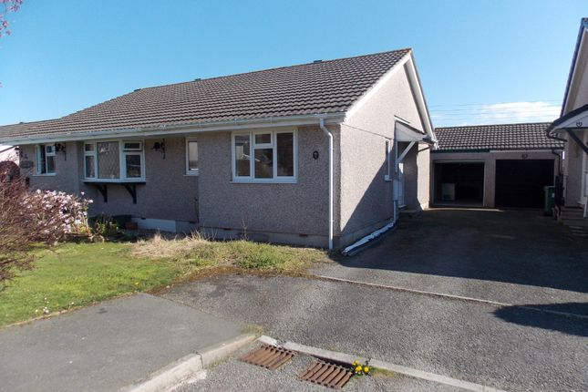 Thumbnail 2 bed semi-detached bungalow to rent in Crabbs Close, St. Giles-On-The-Heath, Launceston