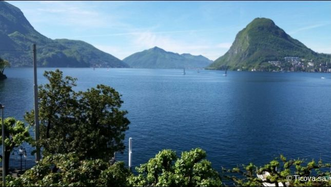 Thumbnail Apartment for sale in 6906, Lugano, Switzerland