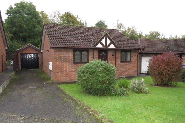 Thumbnail 2 bed detached bungalow for sale in Marchington Close, Allestree, Derby