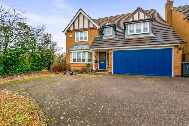 Thumbnail Detached house for sale in Keystone, Northampton