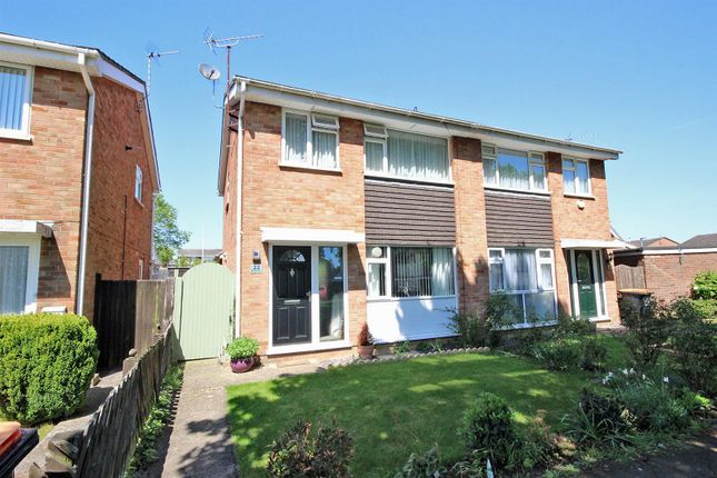 Thumbnail Semi-detached house for sale in Burleigh Place, Oakley, Bedford