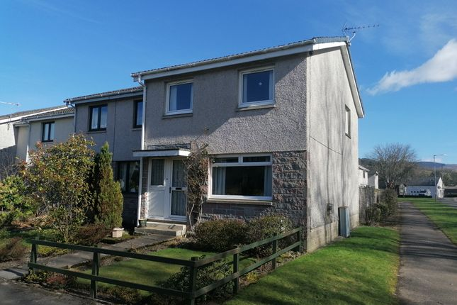 End terrace house for sale in Pringle Court, Moffat