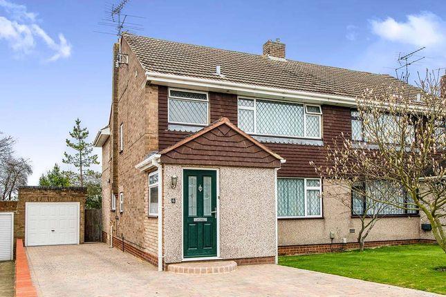 Thumbnail Semi-detached house for sale in Penshurst Close, Rainham, Gillingham