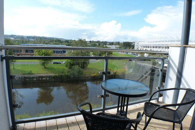 1 bed flat to rent in Copper Quarter, Swansea SA1