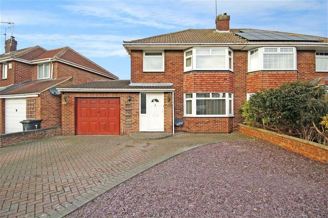Thumbnail Semi-detached house for sale in Grange Drive, Stratton, Swindon