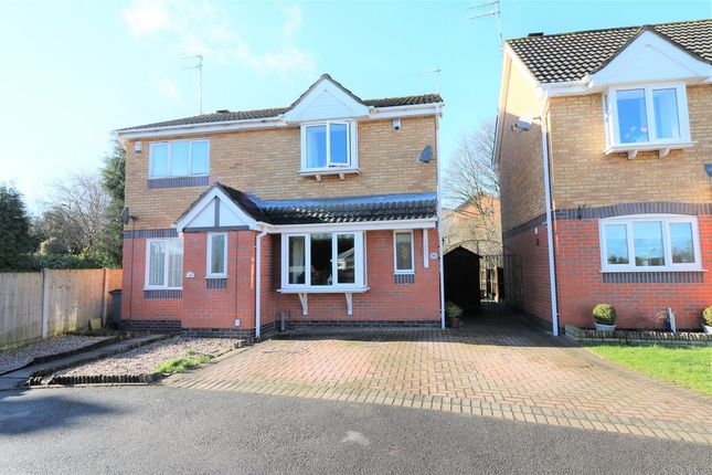 Thumbnail Semi-detached house for sale in Bronte Grove, Milton, Stoke-On-Trent