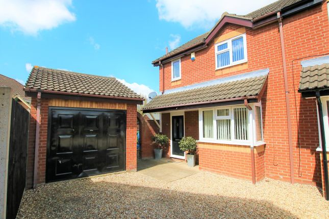 3 bed semi-detached house for sale in Poplar Close, Horsford, Norwich NR10