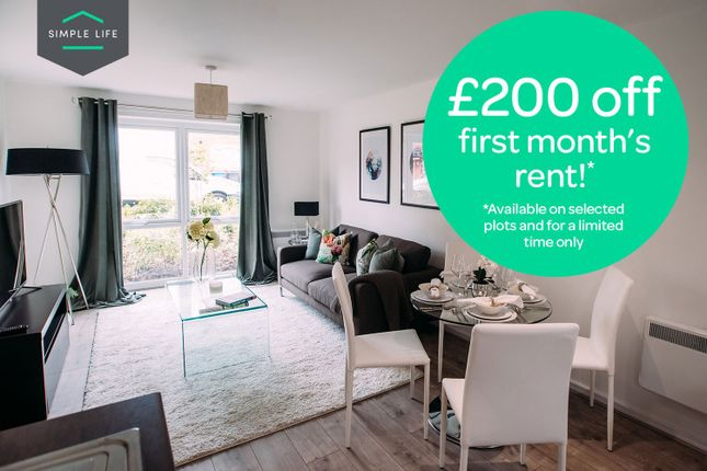 Thumbnail Flat to rent in Hoy Drive, Newton-Le-Willows