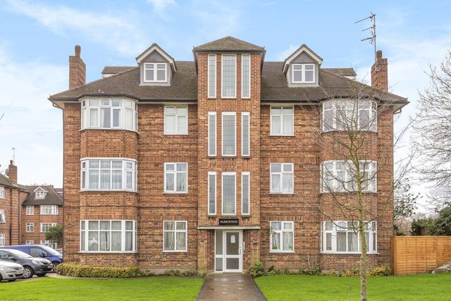 External Front of Parkwood Flats, Oakleigh Road North, London N20,