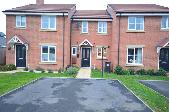 Thumbnail Terraced house for sale in Cover Drive, St. Georges, Telford